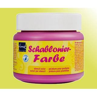 Schablonierfarbe Lemon 150 ml